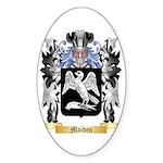 Maiden Sticker (Oval)