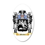Maiden 20x12 Oval Wall Decal