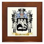 Maiden Framed Tile