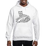 Cheetah Cub Hooded Sweatshirt