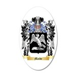Maide 35x21 Oval Wall Decal