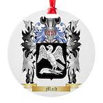 Maid Round Ornament