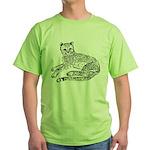 Cheetah Cub Green T-Shirt