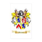 Mahony Sticker (Rectangle 50 pk)