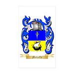 Mahaffy Sticker (Rectangle 50 pk)
