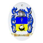 Mahaffy Oval Ornament