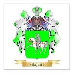 Maguire Square Car Magnet 3