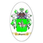 Maguire Sticker (Oval 10 pk)