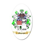 Maguigan 35x21 Oval Wall Decal