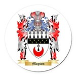 Magson Round Car Magnet