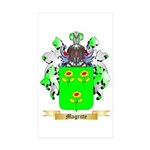 Magritte Sticker (Rectangle 50 pk)