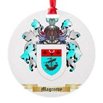 Magreevy Round Ornament