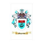 Magreevy Sticker (Rectangle 50 pk)