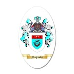 Magreevy 35x21 Oval Wall Decal