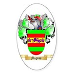 Magnus Sticker (Oval 50 pk)