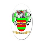 Magnus 20x12 Oval Wall Decal