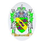 Magner Oval Ornament