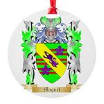 Magnel Round Ornament
