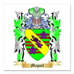 Magnel Square Car Magnet 3