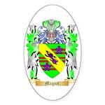 Magnel Sticker (Oval 50 pk)