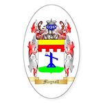 Magnall Sticker (Oval)