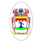Magnall Sticker (Oval 50 pk)