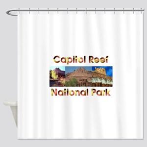 ABH Capitol Reef Shower Curtain