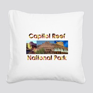ABH Capitol Reef Square Canvas Pillow