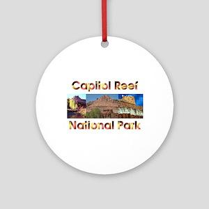 ABH Capitol Reef Round Ornament