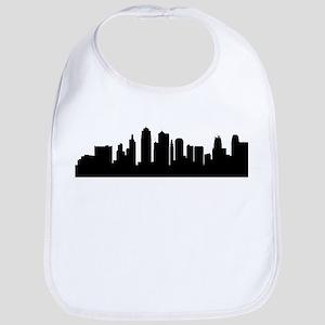 Kansas City Cityscape Skyline Bib