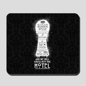 AHS Hotel Keyhole Mousepad