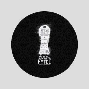 AHS Hotel Keyhole Button