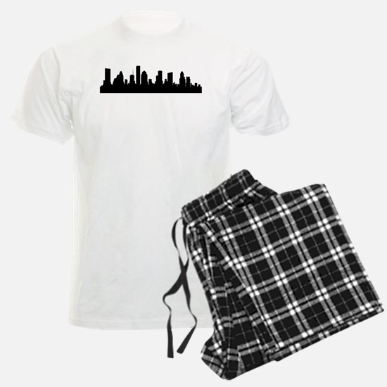 Houston Cityscape Skyline Pajamas
