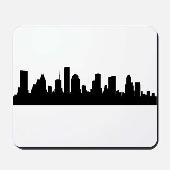 Houston Cityscape Skyline Mousepad