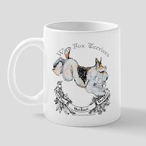 Fox Terriers Outlast! Mug