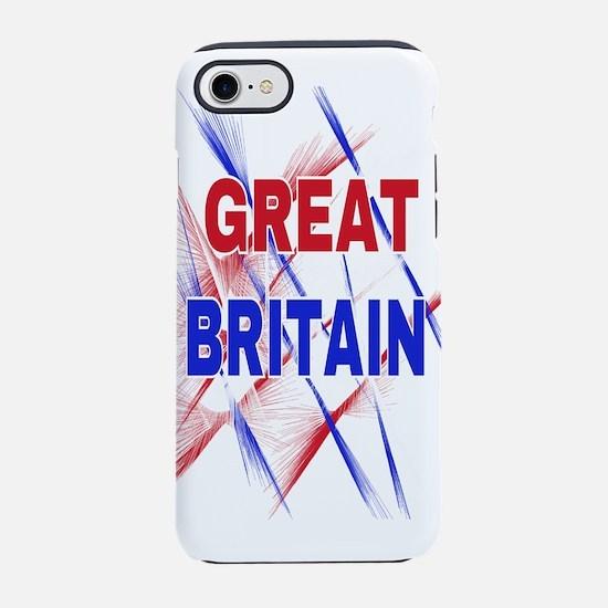 GREAT BRITAIN iPhone 8/7 Tough Case