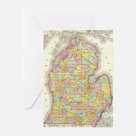 Funny City map Greeting Card
