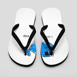 9ad95d11b Beached Az Flip Flops - CafePress