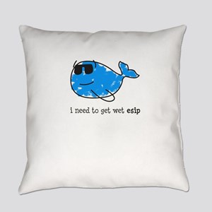 I need to get wet esip Everyday Pillow