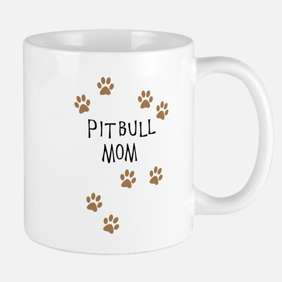 Pitbull Mom Mugs