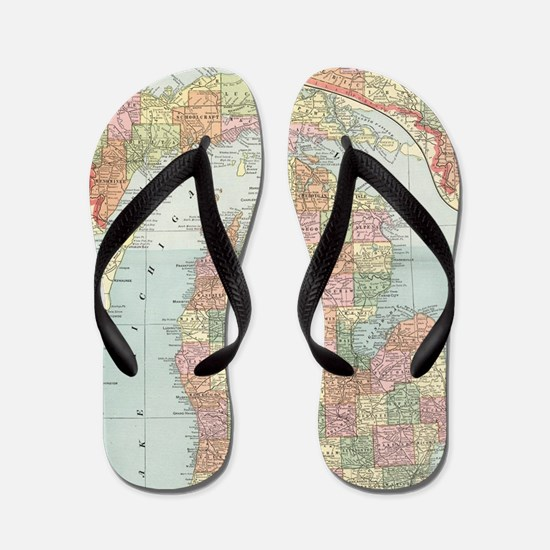 Cute Moving Flip Flops