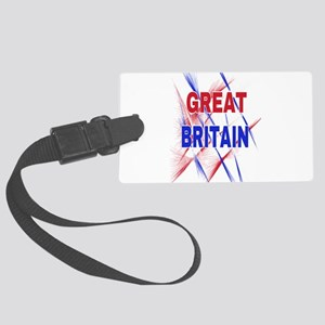 GREAT BRITAIN Large Luggage Tag