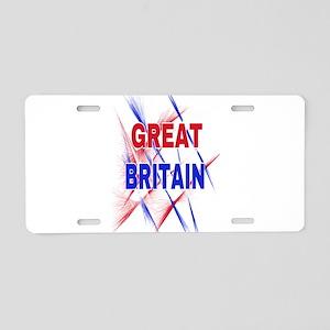 GREAT BRITAIN Aluminum License Plate