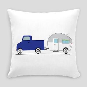 Truck & Camper Everyday Pillow