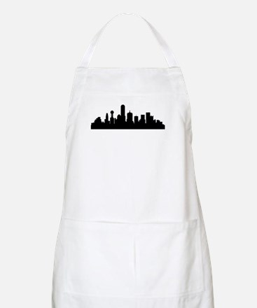 Dallas Cityscape Skyline Apron