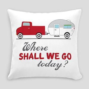 Where Shall We Go Everyday Pillow