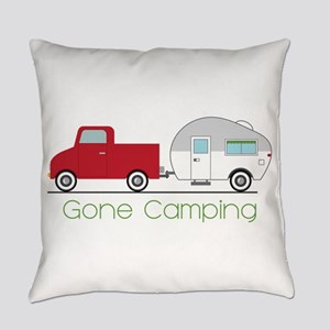 Gone Camping Everyday Pillow