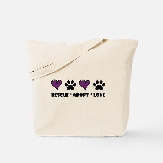 Unique Adopt shelter dog Tote Bag