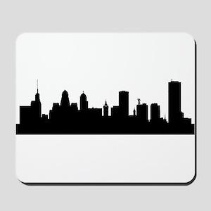 Buffalo Cityscape Skyline Mousepad