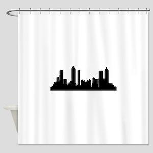 Atlanta Cityscape Skyline Shower Curtain